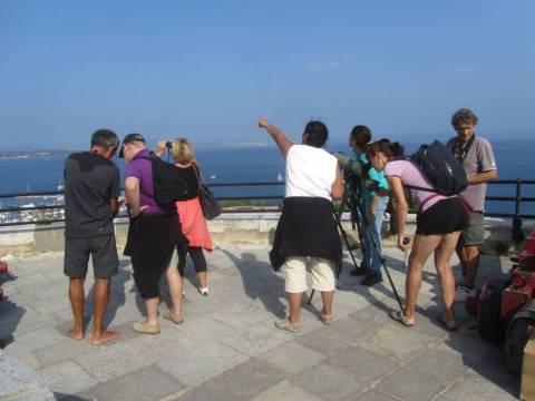 observation depuis la terrasse du Fort