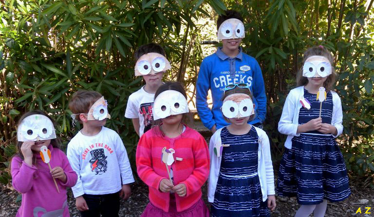 Groupe masque Aline 1