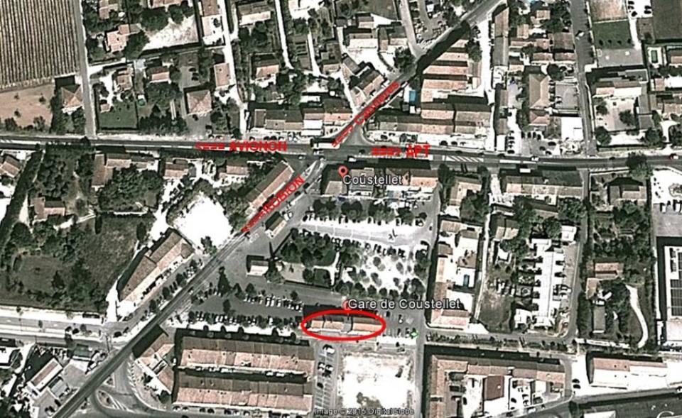 Gare de Coustellet