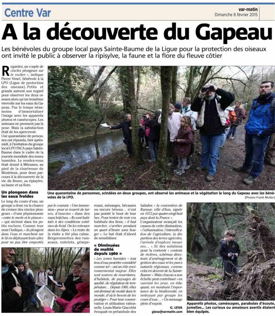 JMZH 2015 - Le Gapeau