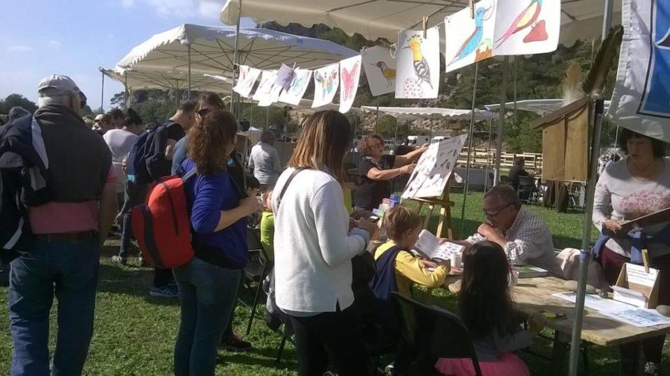 Fête du PNR de la Sainte Baume 2016 - Atelier de coloriage et animations enfants