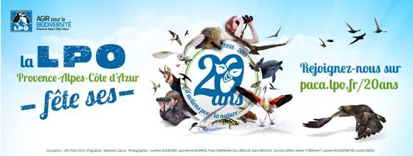 La LPO PACA fête ses 20 ans!