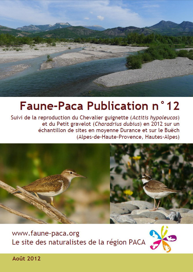 Couverture Faune PACA Publication