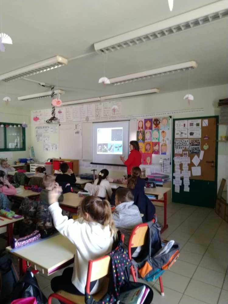 Josiane école La Roquebrussanne
