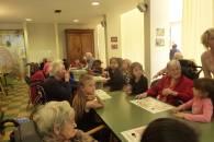 Rencontre à la Maison de retraite autour des chants d'oiseaux © Eve LEBEGUE