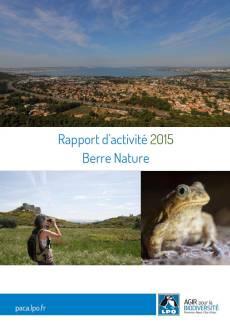 2015 bilan berre nature