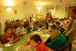 Rencontre à la Maison de retraite - Crédit photo : Eve LEBEGUE