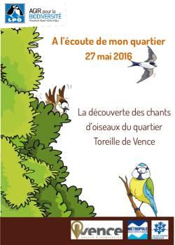 Couverture du livret sur les chants d'oiseaux