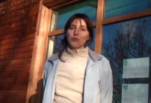 Aurélie, écovolontaire au centre régional de sauvegarde de la faune sauvage de Buoux