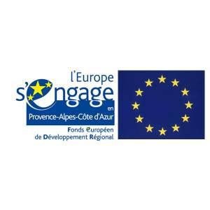 L'Union Européenne à travers le Fonds Européen de Développement Régional