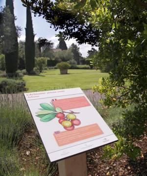 Panneau d'information au Château Saint-Martin & Spa © DR
