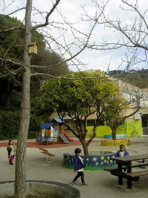 L'école maternelle Terra Amata à Nice est devenue un « Refuge LPO » ! ©  Claire Michaud