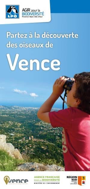 Couverture carte découverte de Vence
