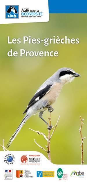 Carte découverte des pies-grièches de Provence