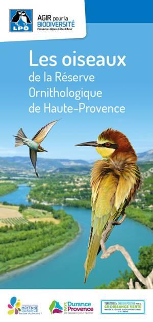 Carte découverte de la Réserve Ornithologique de Haute-Provence