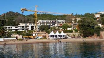 Construction sur le littoral © LPO PACA