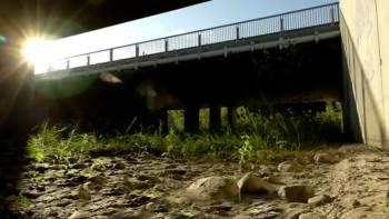 Passage pour la faune au niveau de la zone humide des Piles