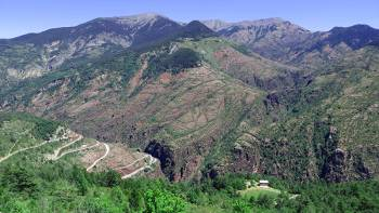 Réserve naturelle réginale des gorges de Daluis © Tangi Corveler