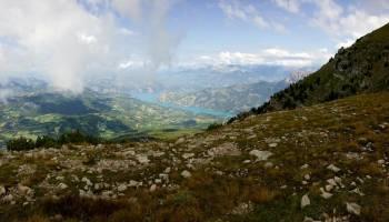 Vue depuis le sommet de Dormillouse © Emilie Carre