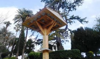 Tour à hirondelles au parc Chambrun de Nice
