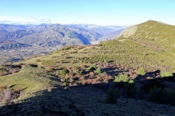 Vue depuis le sommet du Cousson © LPO PACA