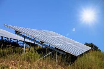 Panneaux solaires - photo Sébastien Garcia
