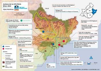 Les actions de la LPO PACA dans les Alpes-Maritimes