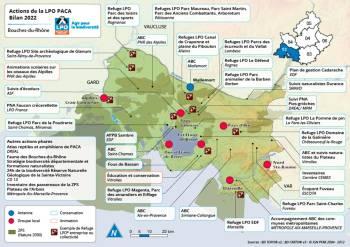 Les actions de la LPO PACA dans les Bouches-du-Rhône