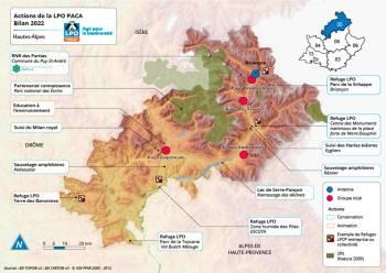 Les actions de la LPO PACA dans les Hautes-Alpes
