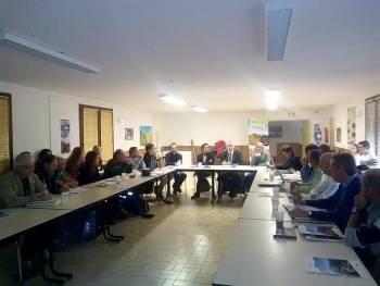 Comité de gestion de la RNR des gorges Daluis © Cécile Lemarchand
