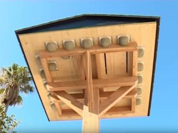 Une tour pour les hirondelles au cœur de l'écoVallée de Saint-Isidore à Nice