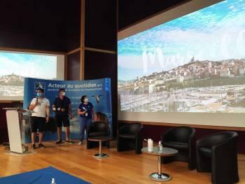 Assemblée générale 2021 de la LPO PACA à Marseille, présentation du groupe local de Marseille © Sébastien Garcia