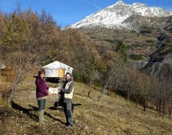 Les formations à l'ornithologie pour les professionnels du tourisme des Alpes d'Azur © LPO PACA