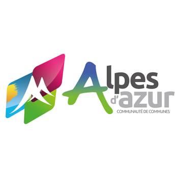 Logo communauté de communes Alpes d'Azur