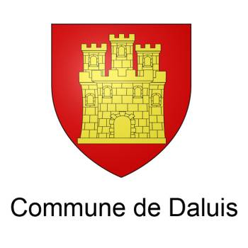 Blason de la commune de Daluis