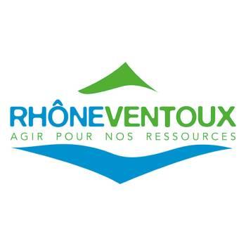 Logo Syndicat Mixte des eaux de la région Rhône Ventoux