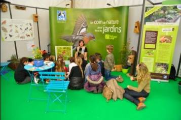 Animation scolaire au Salon - JB Pioppa