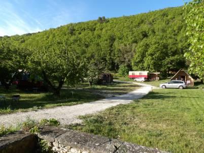 Camping Le Vallon © Pauline Rochotte