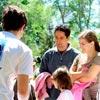 Stand d'information tenu par les bénévoles © LPO PACA