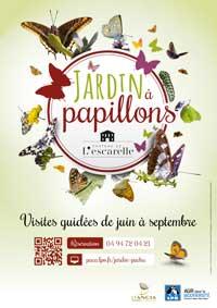 Sorties nature au jardin à papillons du Château de l'Escarelle