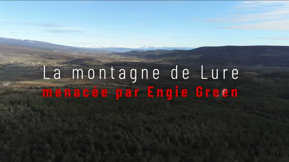 La montagne de Lure menacée par Engie green