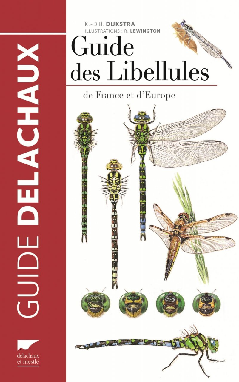 guide des libellules france et europe
