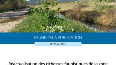 Faune-PACA Publication n°106 : Réactualisation des richesses faunistiques de la zone du Roubaud - Lieurette et de la base aéronavale d'Hyères (83) enn 2020 - volet 1 : les vertébrés