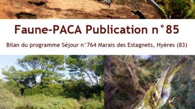 Faune-PACA Publication n°85 : Bilan du programme SEJOUR n°764 Marais des Estagnets, Hyères (83)